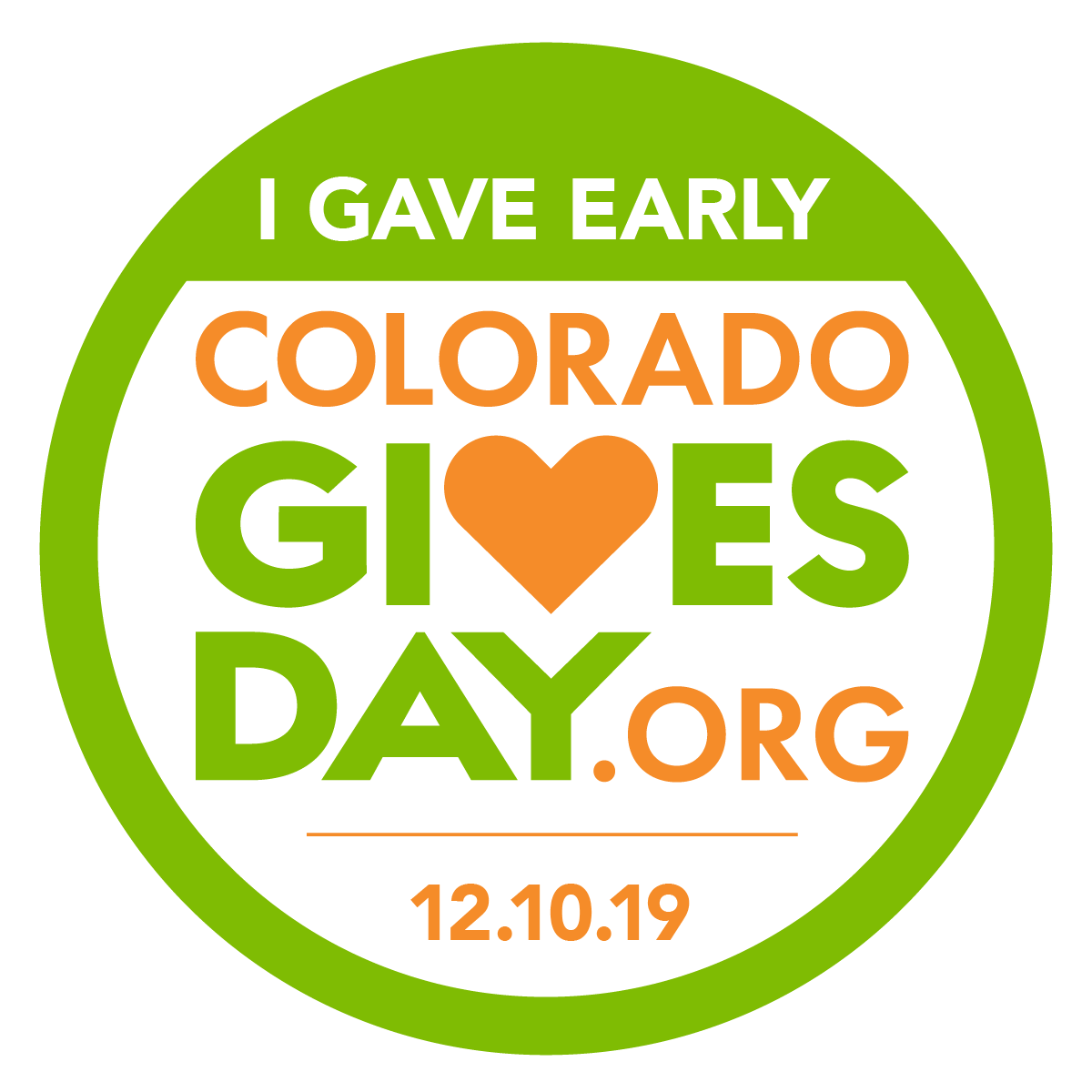 CoGives Gave Early Badge