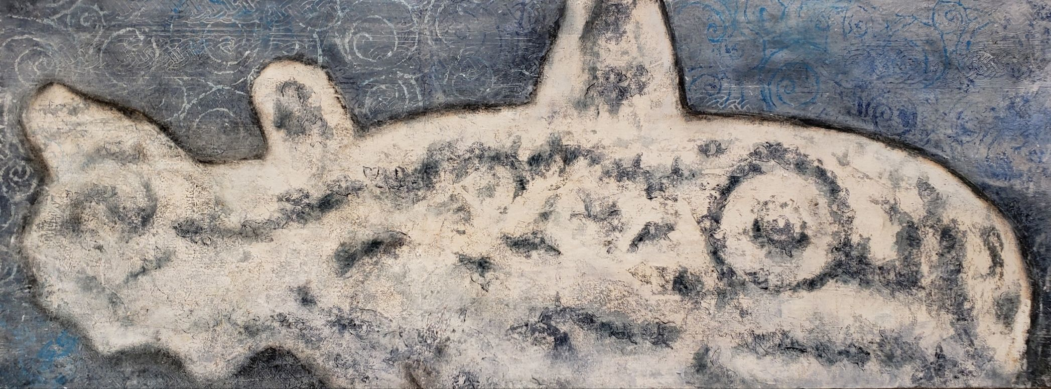 "Sandy Shepard - ""Wrangell Whale Petroglyph"""