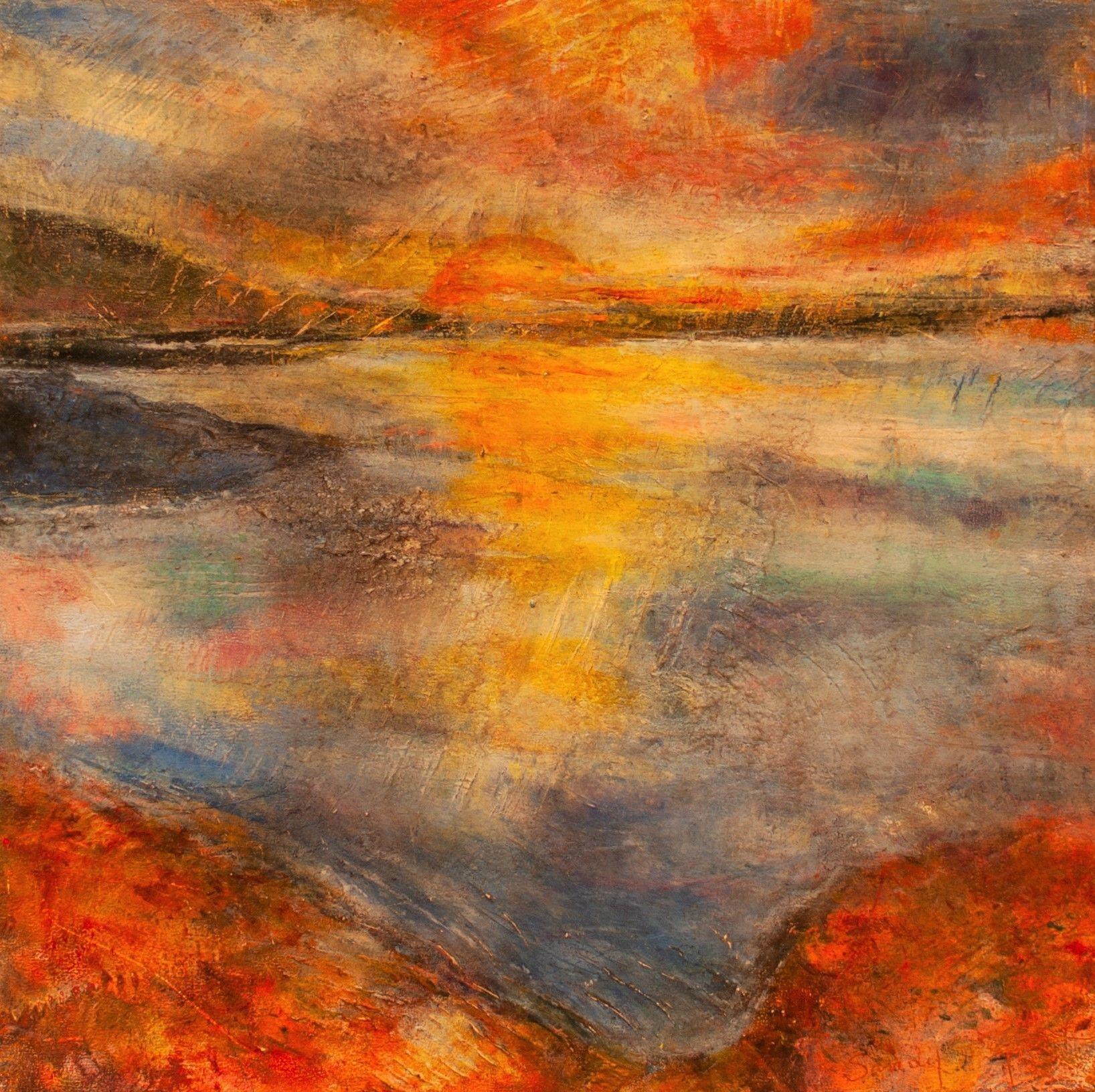 "Sandy Shepard - ""Tongass Narrow Sunset"""
