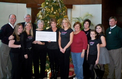 Cancer Society Received $3,000 Donation