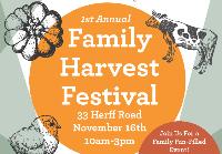 Family Harvest Festival at the Herff Farm