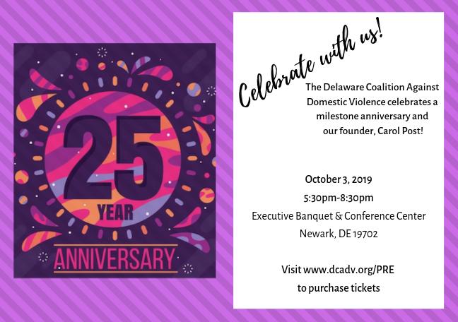 DCADV's 25th Anniversary Celebration