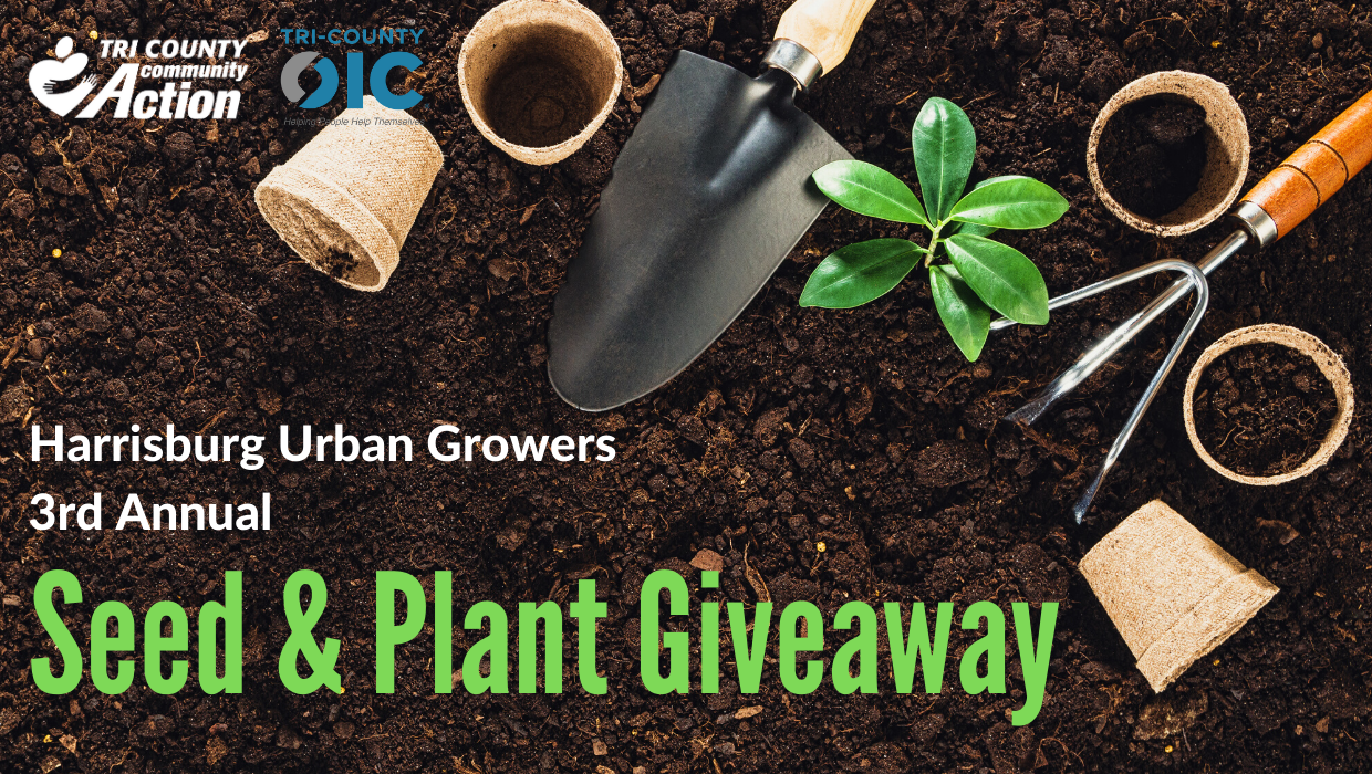 Harrisburg Urban Growers-HUG's 3rd Annual Seed & Plant Giveaway