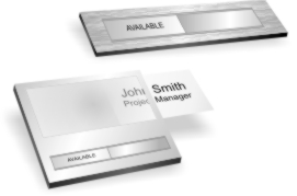 In Use Name Plates