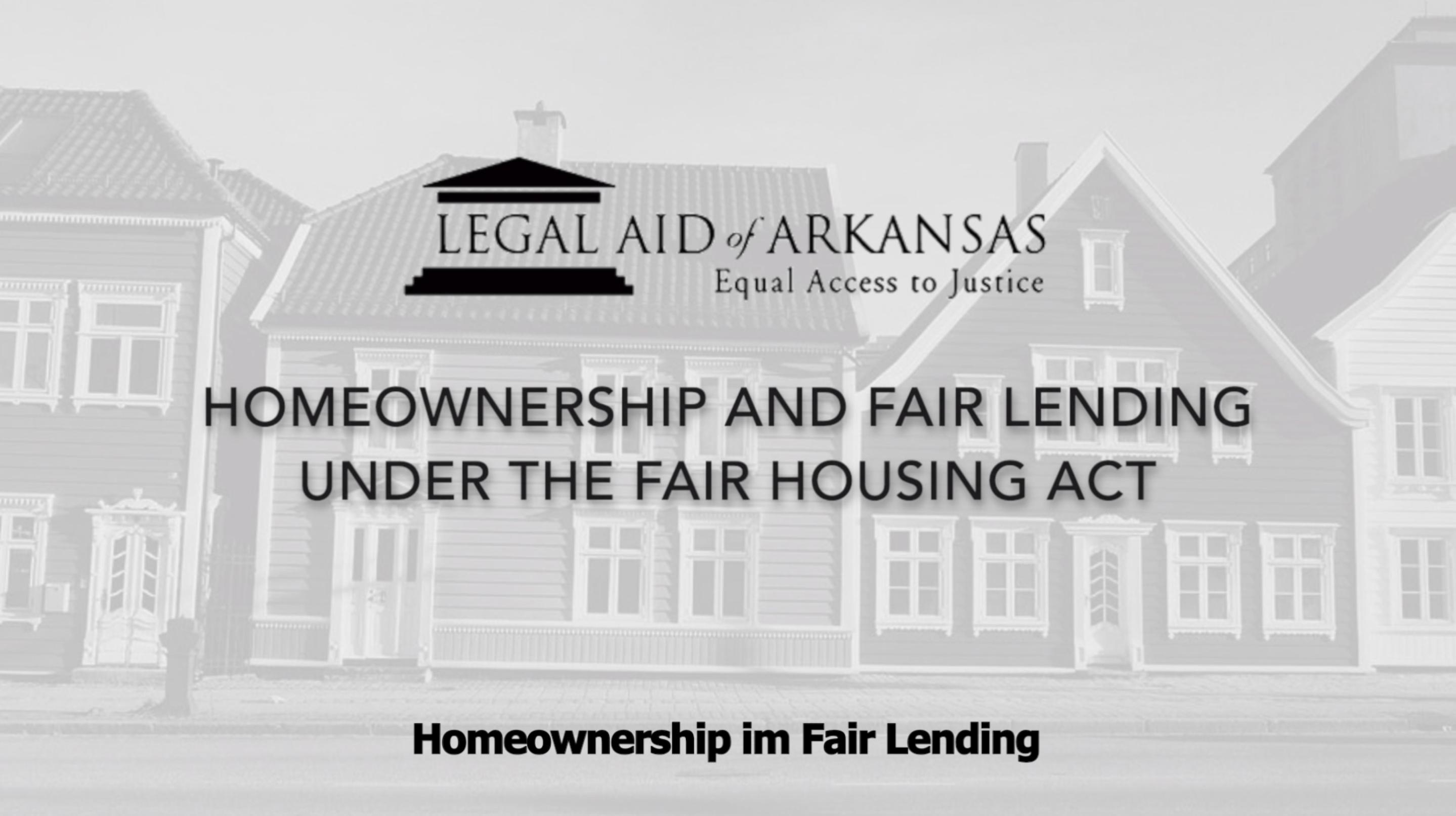 VIDEO - Owner an em ko im riwia kake umwin Fair Housing Act