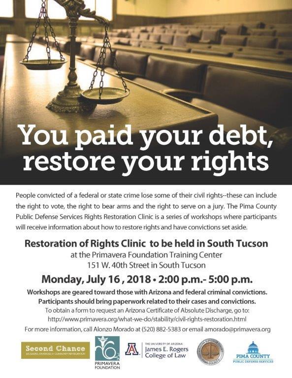 Civil Rights Restoration Workshop