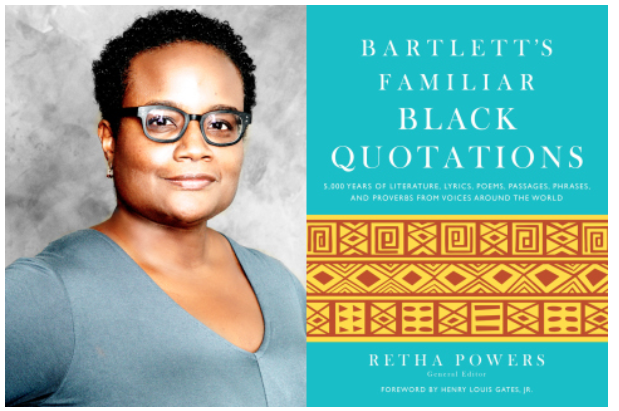 Salon with Retha Powers' Publication, Bartlett's Familiar Black Quotations