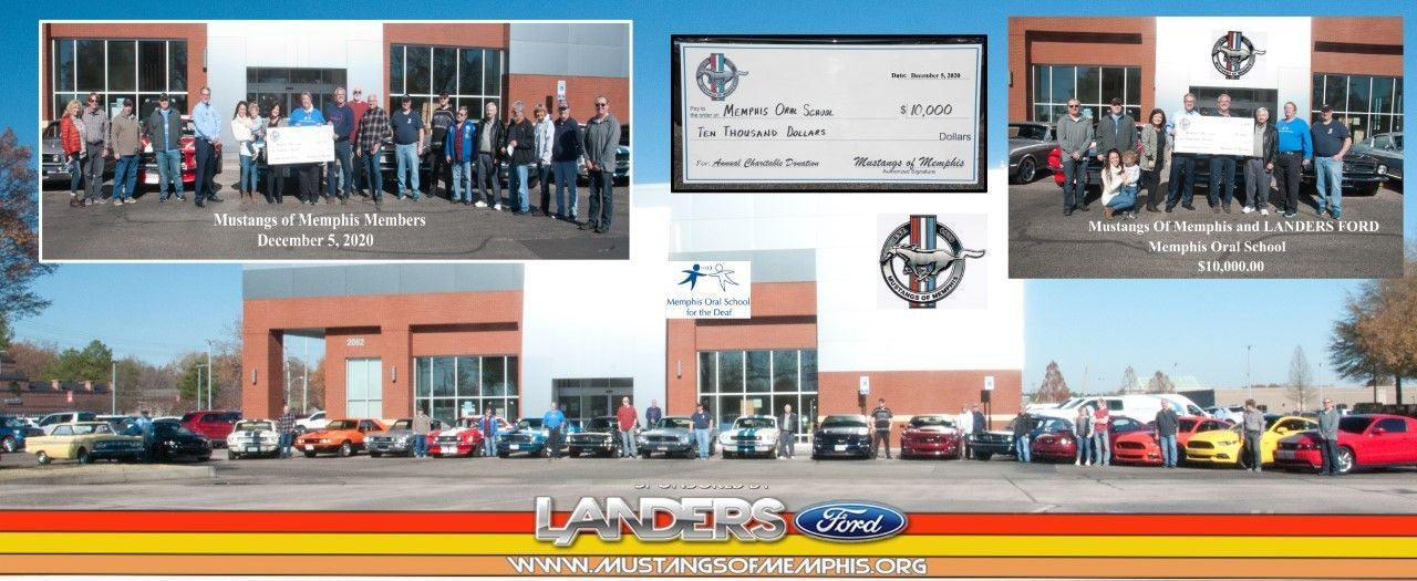 Mustangs of Memphis & Landers Ford Support MOSD