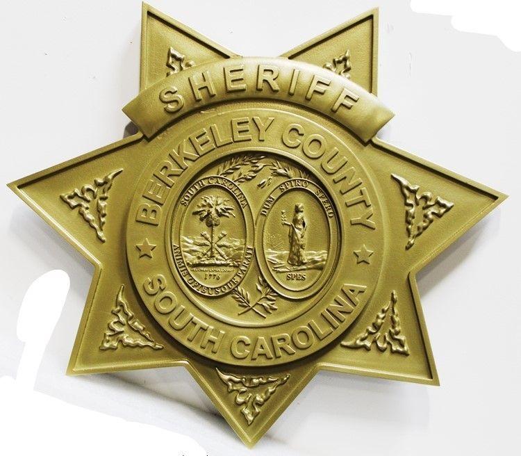 CC7240 - Badge for Sheriif of Berkeley County, South Carolina