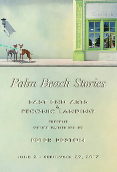 PALM BEACH STORIES Genre Paintings by Peter Beston (posted June 1, 2017)