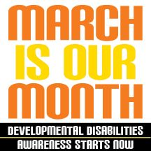 March Is Our Month Profile Badge