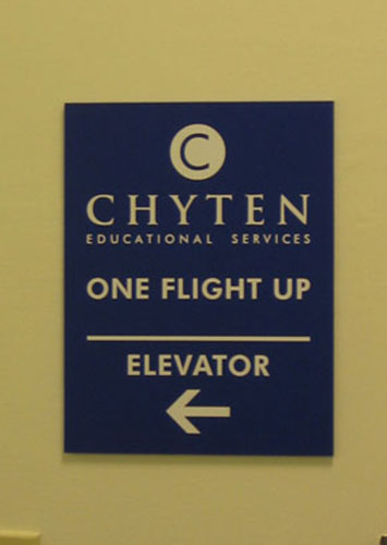 Directional Sign