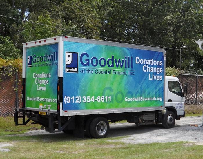 Goodwill Van