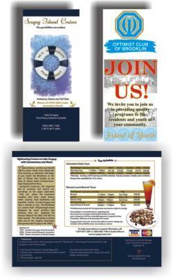 Brochure Printing by CustomPrinting.ca & Brooklin Signs