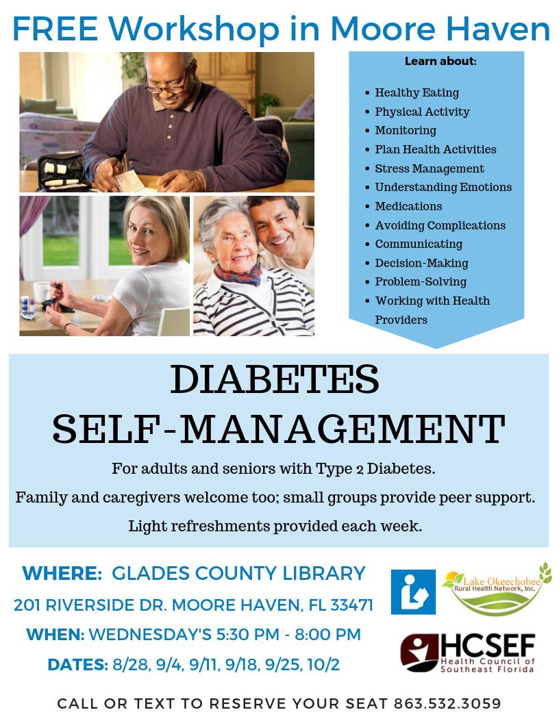 Type 2 Diabetes Management - Moore Haven