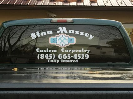 Rear Window Vehicle Graphics