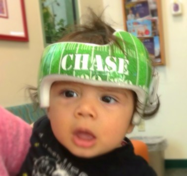 Chase Looking Great In His New Wrap Buddy!
