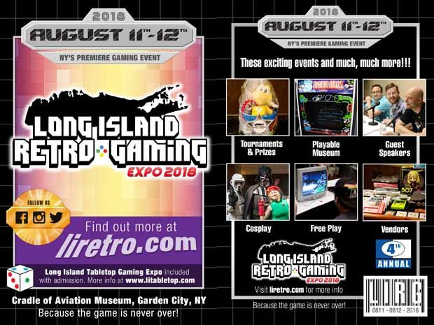 The Long Island Retro Gaming Expo