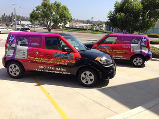 Orange County vehicle graphics and wraps