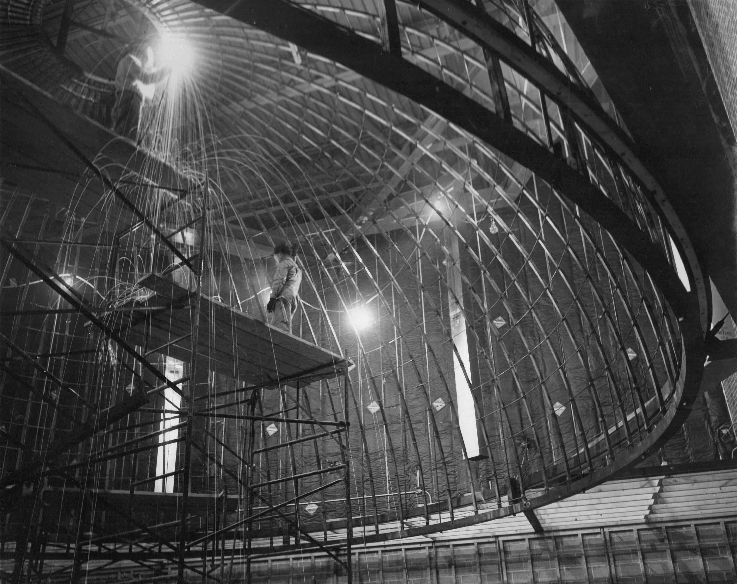 Planetarium construction (1957)