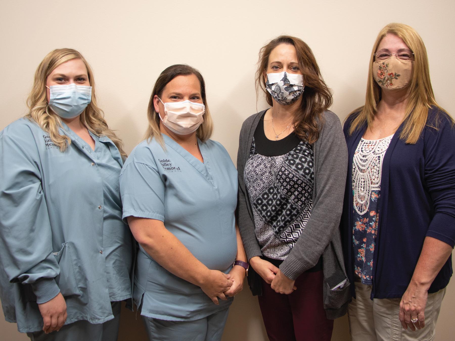 Golden Valley Memorial Healthcare employees