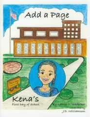 Add a Page -- Kena's First Day of School