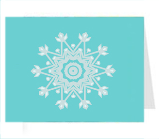 "Custom A-2 Holiday or Greeting Card - 5.5"" x 4.25"" printed 2-sides"