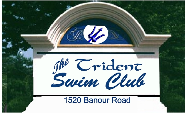 GB16752 - Monolithic EPS Monument Entance Sign for Trident Swim Club