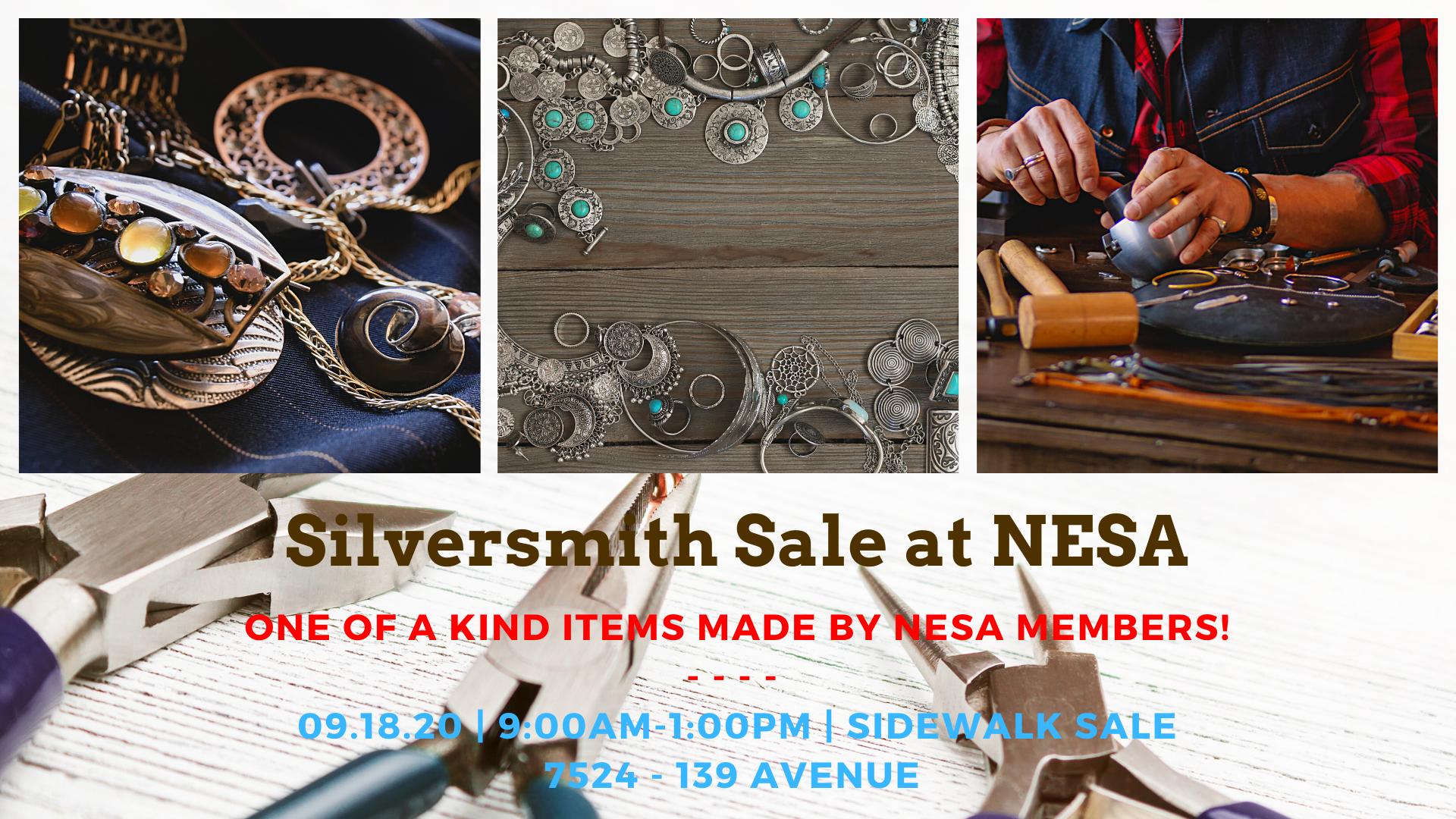 Silversmith Sale at NESA!
