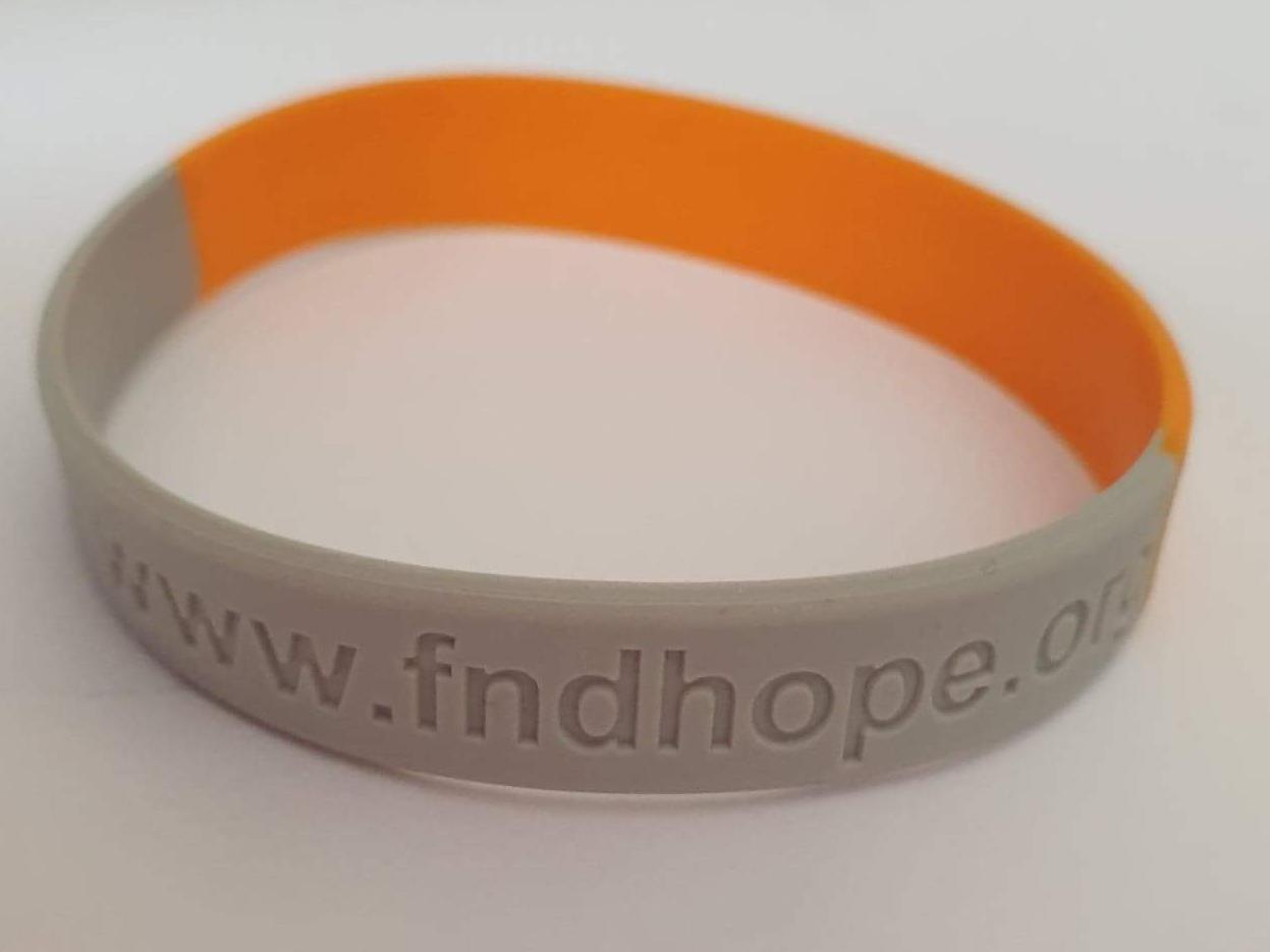 "FND Hope Wristband 8"""