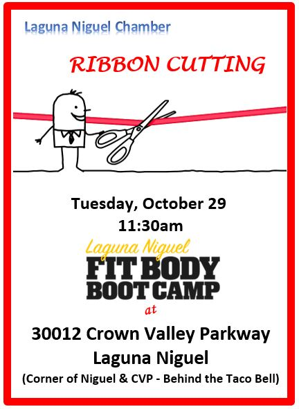 Fit Body Boot Camp Ribbon Cutting