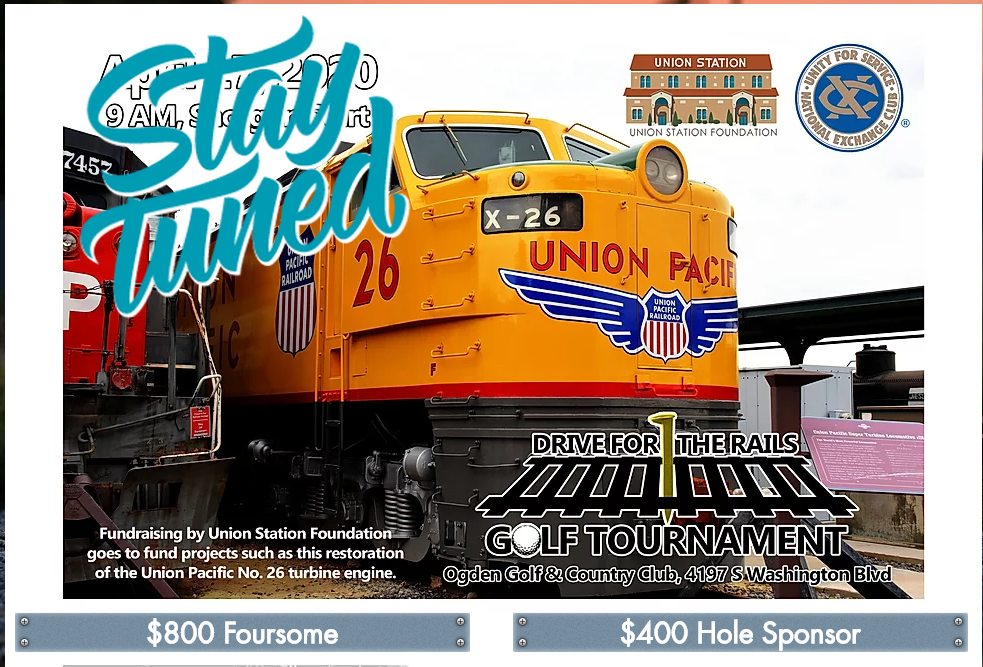 Union Station Foundation Drive For the Rails Golf Tournament