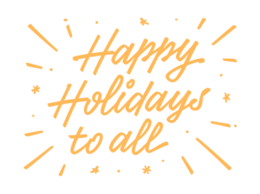 Happy Holidays for All