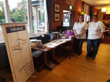 Dawn Golder organised a Pub Quiz and Raffle to raise awareness of FND and raised £200.00
