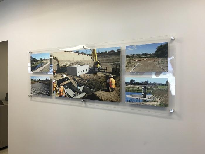 Acrylic Panel with Photo Prints
