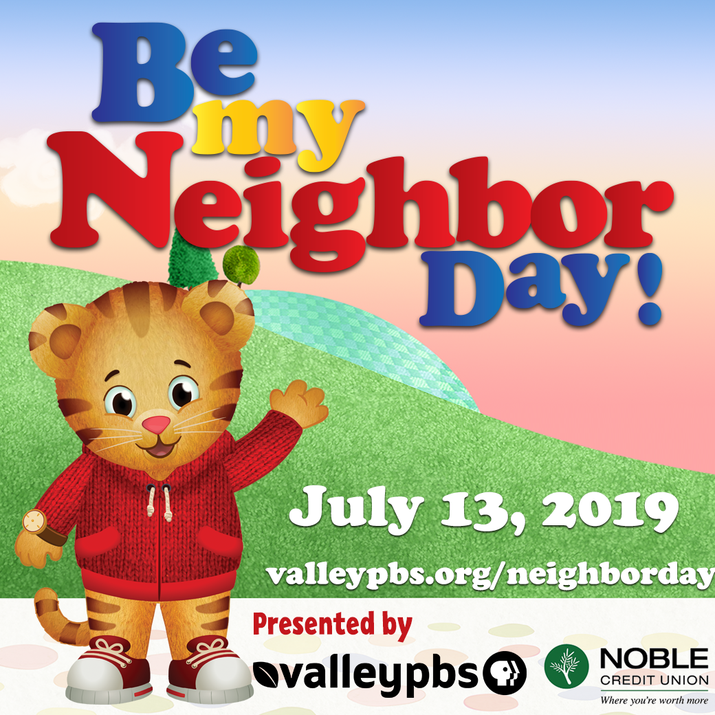 Be My Neighbor on July 13