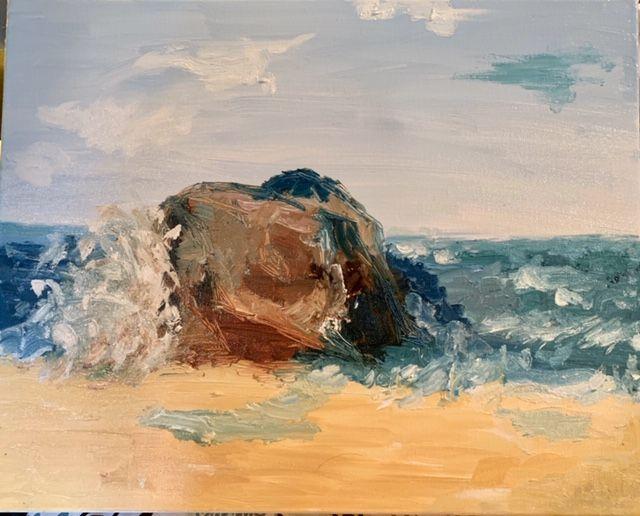 Artist: Ann Carlile, Oil on Canvas