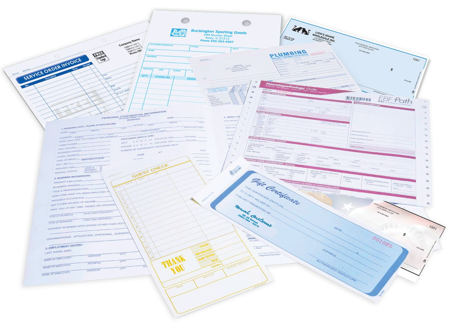 Custom Forms & Cheques | Cheque Printing | Custom Form Printing & Design