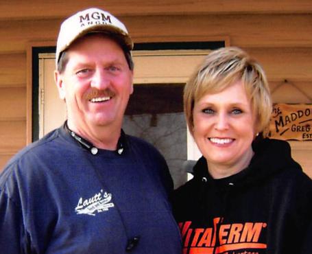 Greg and Marla Maddock
