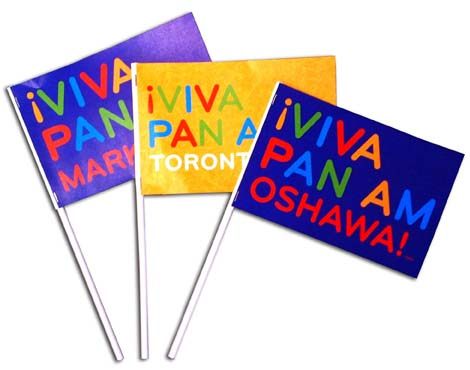 Hand-waver Flags