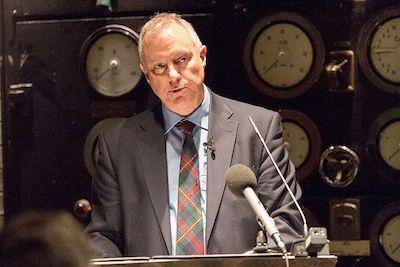 Sir Iain Lobban gives his valedictory speech
