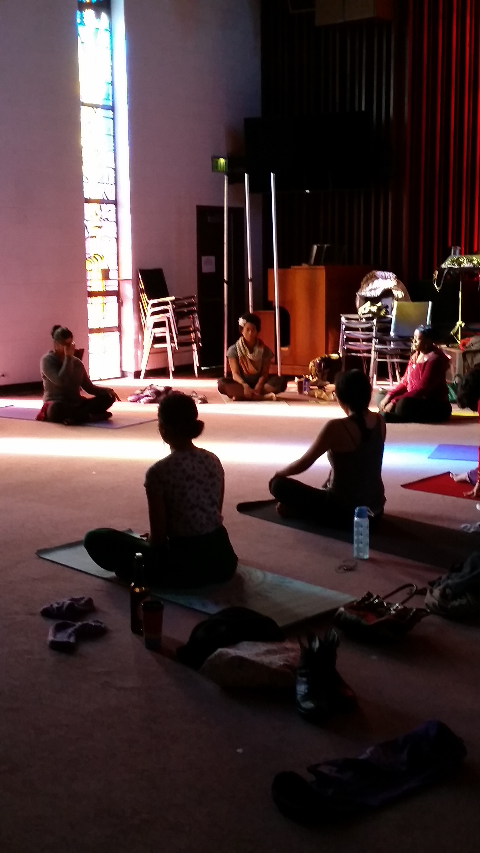Yoga for the People Sanctuary Session