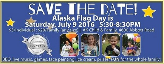 An Englishman in Anchorage (channeling Sting) personal perspective on Alaska Flag Day