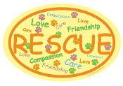 Yellow Rescue - oval
