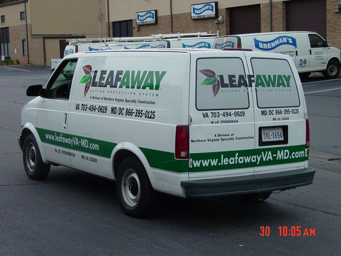Leafaway Van Graphics