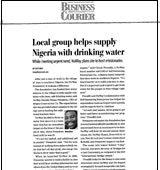 Local Group Helps Supply Nigeria with Drinking Water