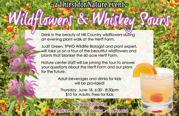 FARM:  (A Thirst for Nature Event) Wildflowers & Whiskey Sours