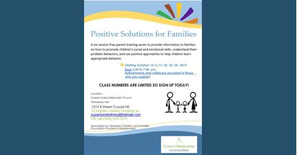 RIR Cozad Parenting Classes 10-15-19