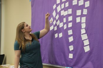 Youth advocate talks about people's strengths