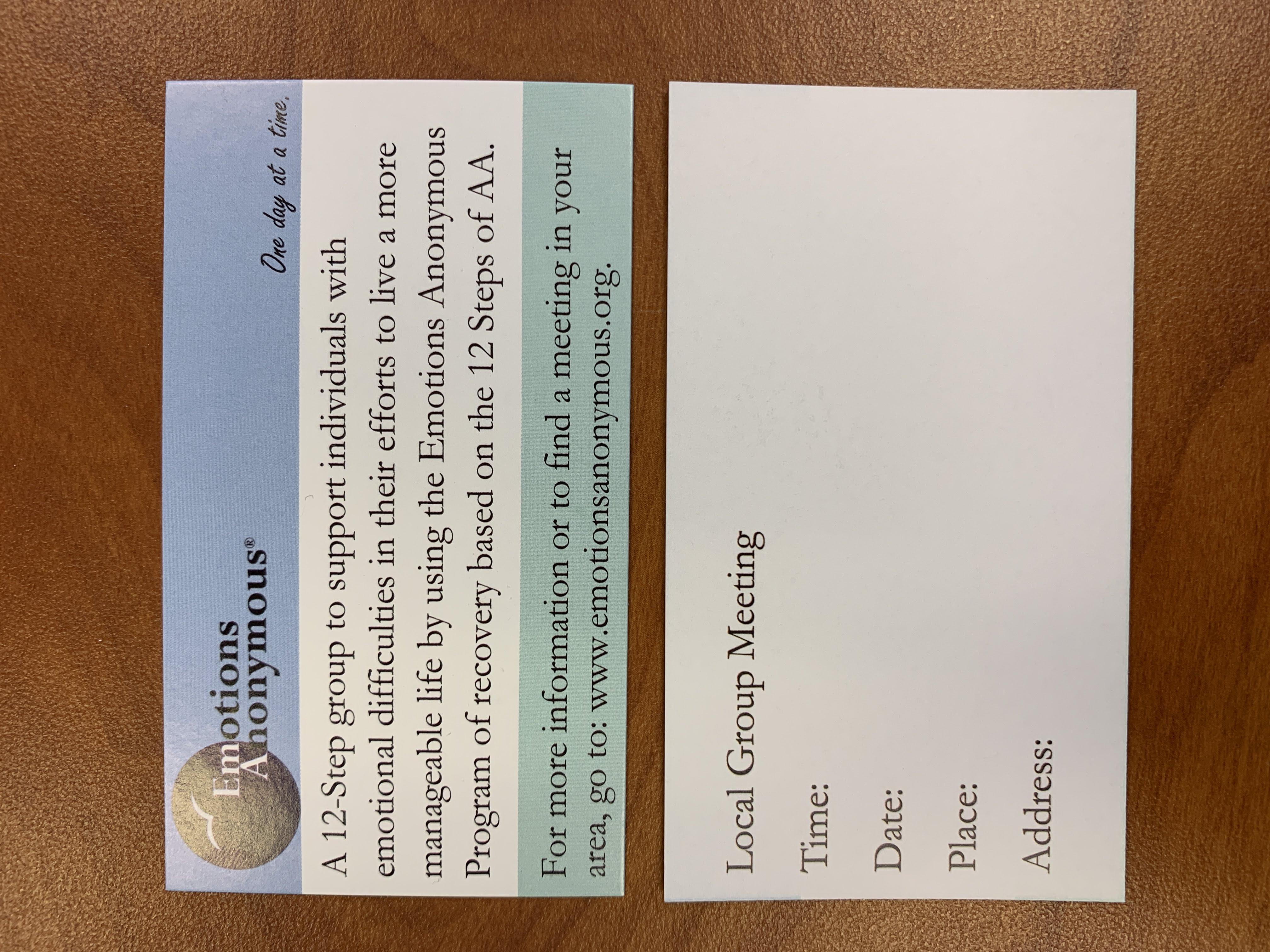 Share Your Meeting Card